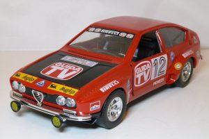 Alfa Romeo Alfetta GT Rally #12 Guida TV Image
