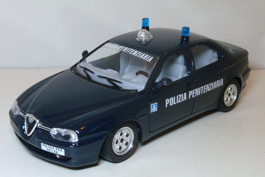 Alfa Romeo 156 Polizia Penitenziaria (I Series) Image