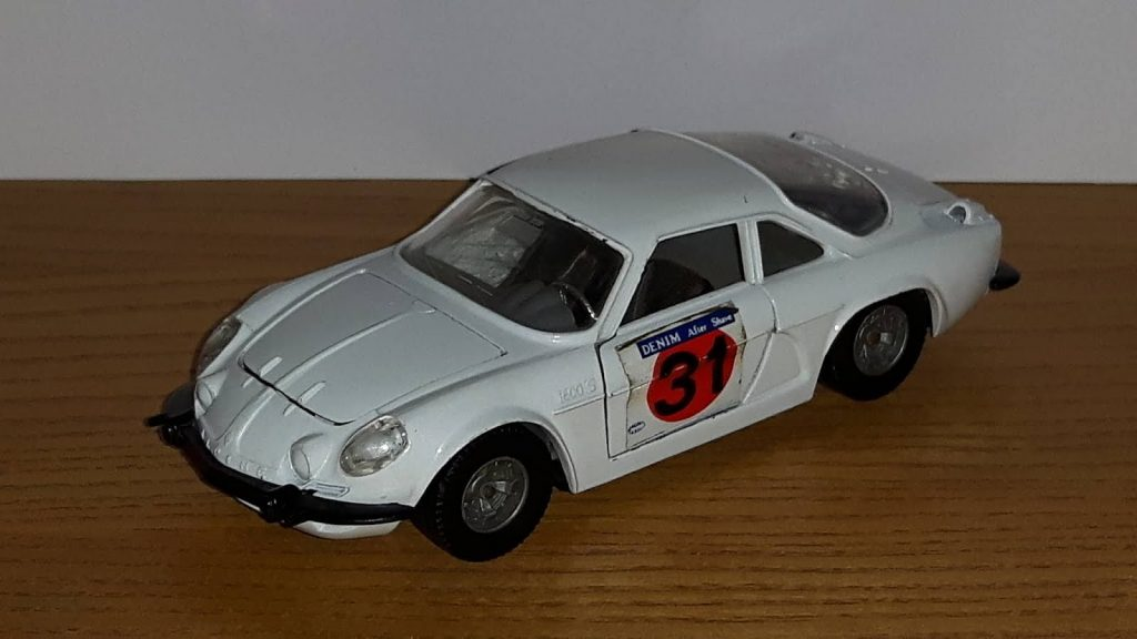 Alpine-Renault A110 Rally #31 Denim Image