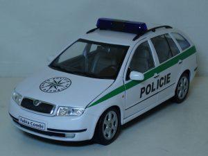 Skoda Fabia Combi Police Image