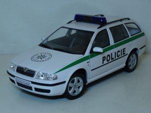 Skoda Octavia Combi Police Image