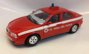 Alfa Romeo 156 Vigili del Fuoco Image