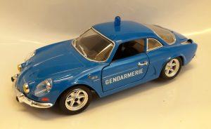 Alpine-Renault A110 (New mold) Gendarmerie Image