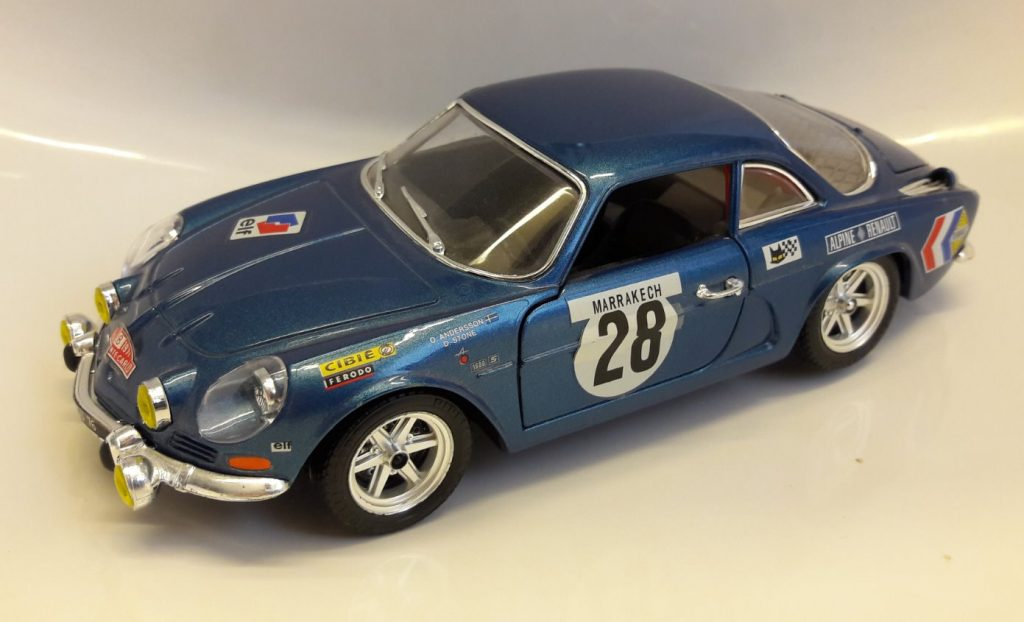 Alpine-Renault A110 (New mold) Rally #28 Image