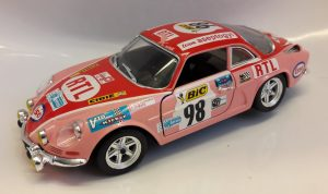 Alpine-Renault A110 (New mold) Rally #4 Image