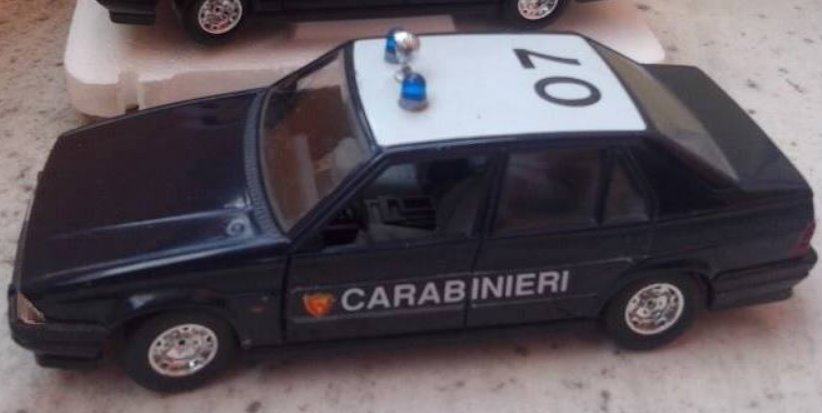 Alfa Romeo 75 Carabinieri (I Series) Image