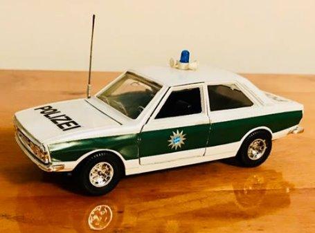 Audi 80 GT Polizei Image