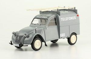 Citroen 2CV Furgoneta Telefonos Image
