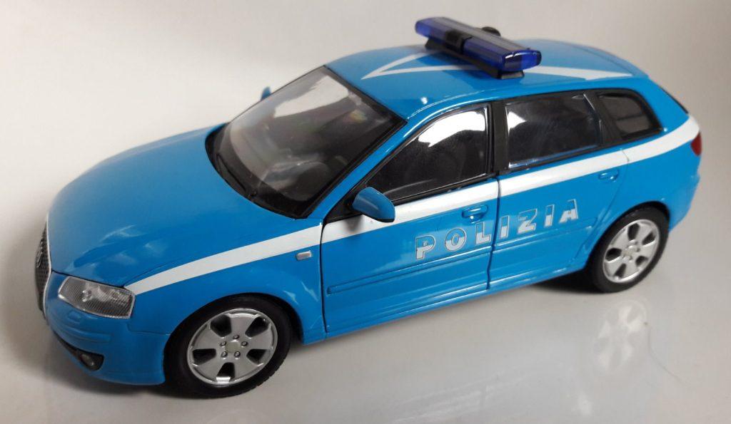 Audi A3 Sportback Polizia Image