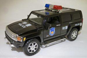 Hummer H3 Police Image