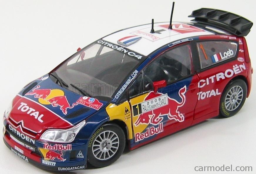Citroen C4 WRC #1 Red Bull Image