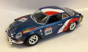 Alpine-Renault A110 Rally #108 Image