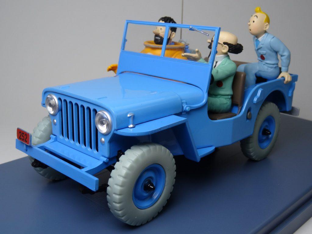 La Jeep bleue d