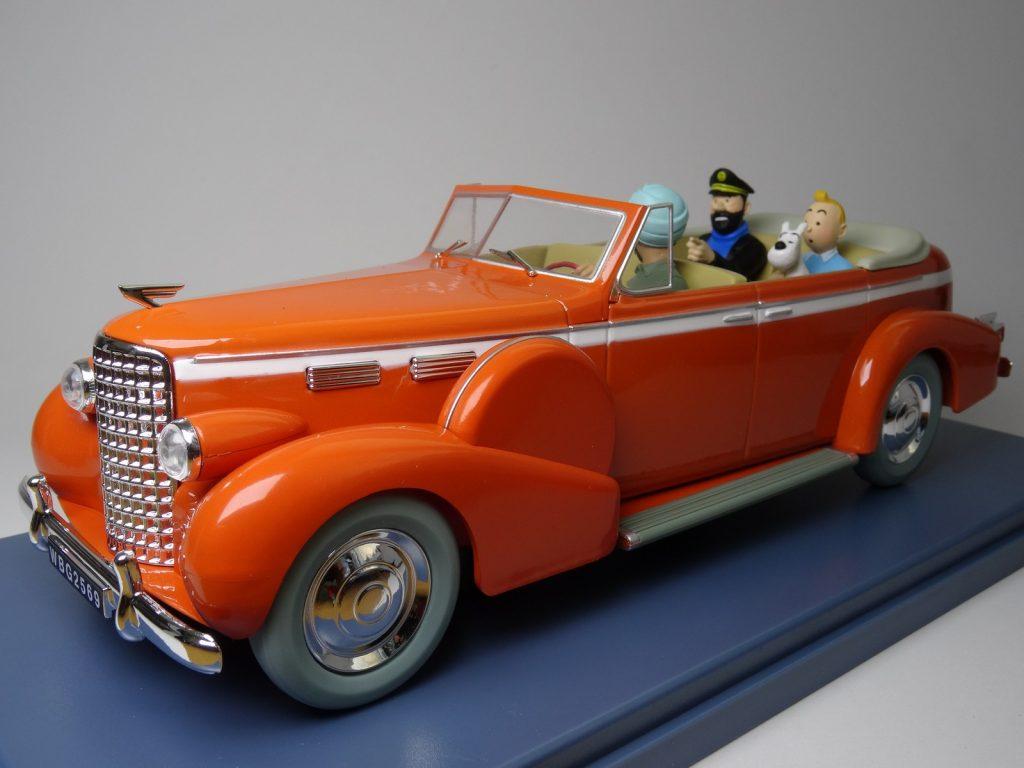 Le Taxi de New Dehli de Tintin Image