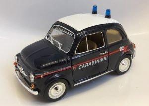 Fiat 500 Carabinieri Image