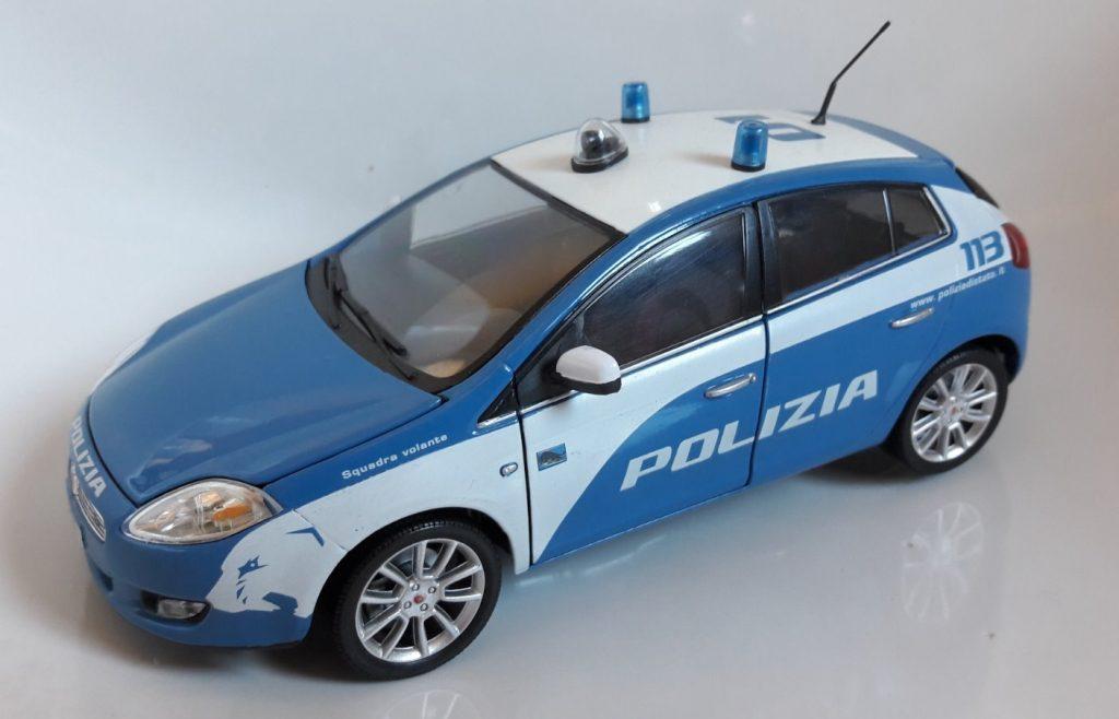 Fiat Bravo Polizia Image