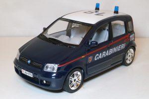 Fiat Panda Carabinieri Image