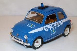 Fiat 500 Polizia Image