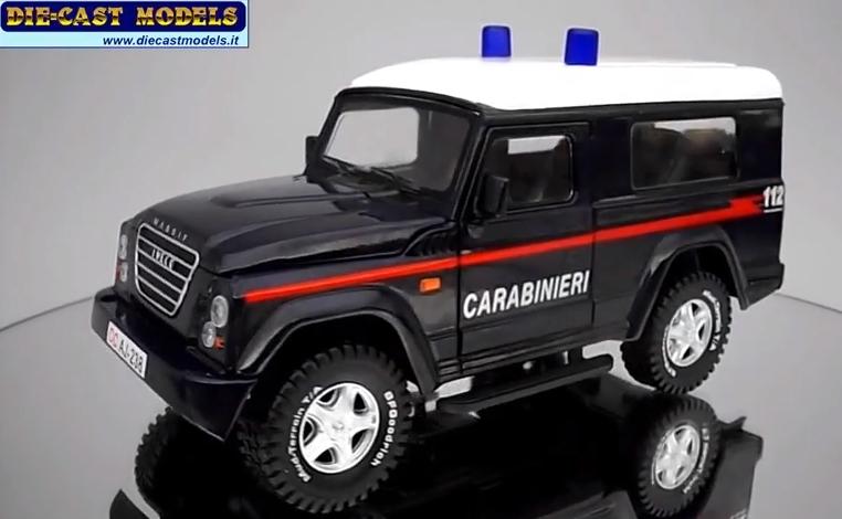 Iveco Massif Carabinieri Image