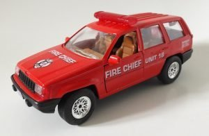 Jeep Grand Cherokee Fire Chief Unit Image