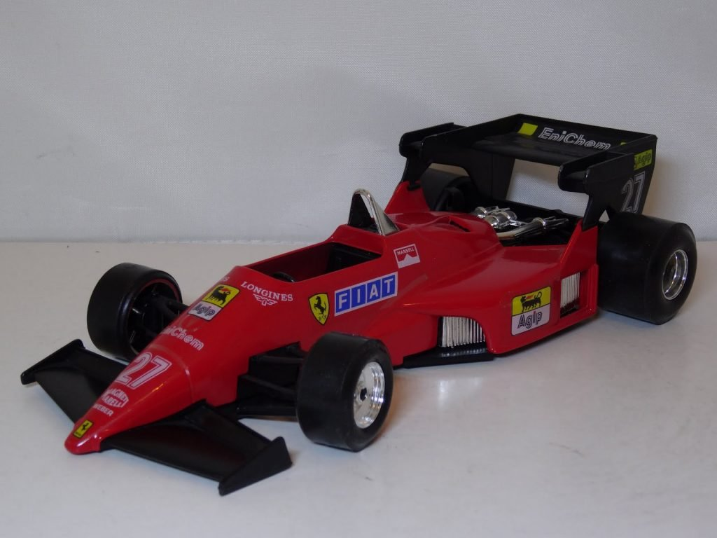 Ferrari 126 C4 #27 - Mansell Image