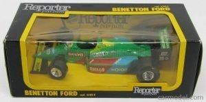 Benetton B188 #20 Riello - Piquet - Box Reporter Parfum Image