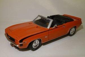 Chevrolet Camaro (1969) SS 396 Convertible Image