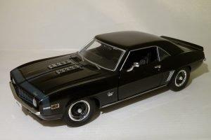 Chevrolet Camaro (1969) SS 396 - Black Bandit Image