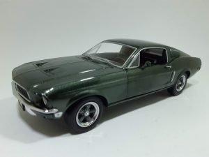 Ford Mustang (1968) GT390 - Steve McQueen - Bullit Image
