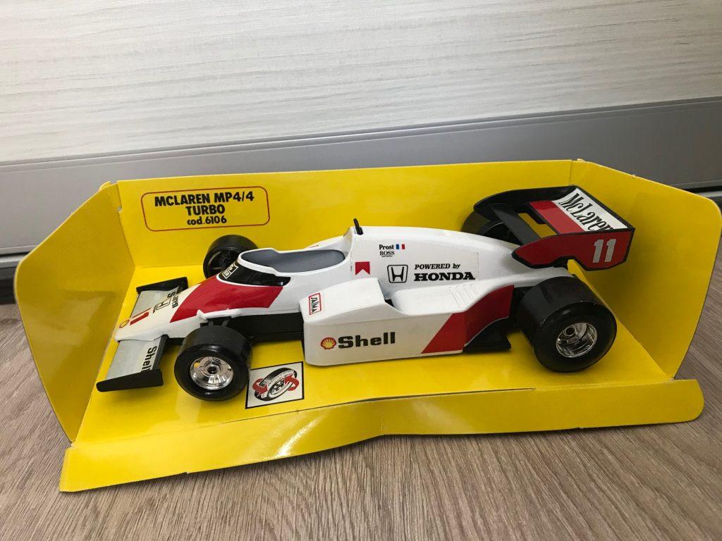 McLaren MP4/4 Turbo #11 Shell - Prost Image