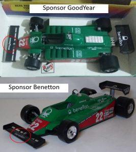 Alfa Romeo 179 Turbo #22 Benetton Image