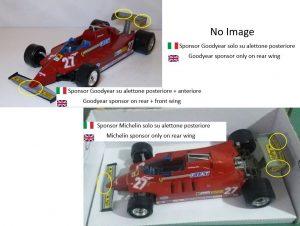 Ferrari 126 K Turbo #27 - Alboreto Image