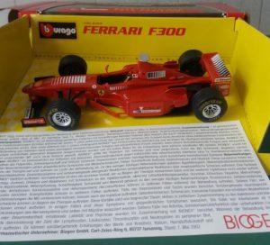 Ferrari F300 #3 Avonex Image