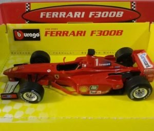 Ferrari F300B #1 Carvecard Image